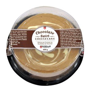 Gâteau fromage tourb.choco. 600gr