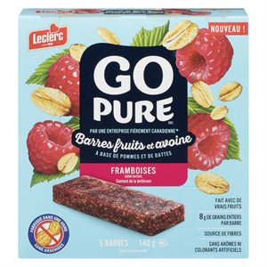 Bar.fruit & avoine framboise 140gr