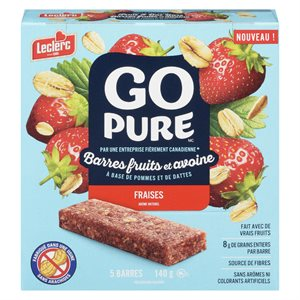 Bar.fruit & avoine fraise 140gr