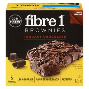 Barre brownies fond.choco. 125gr