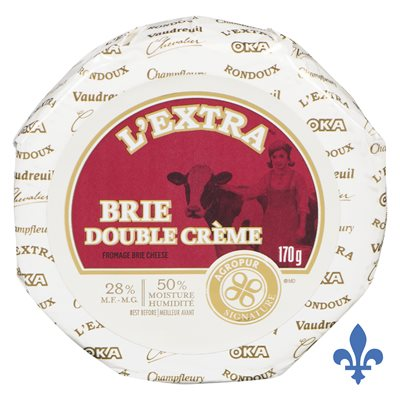 Fromage L'Extra brie double crème 170gr