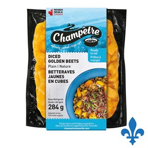 Betteraves jaunes en cubes 284gr
