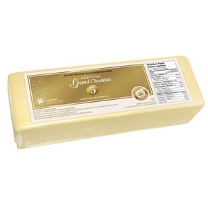 Fromage grand cheddar vieilli 5 ans GROS FORMAT
