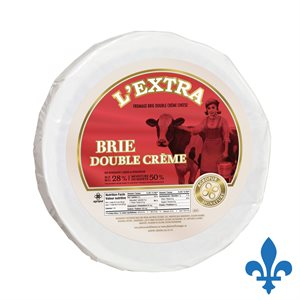 Fromage brie L'Extra double crème