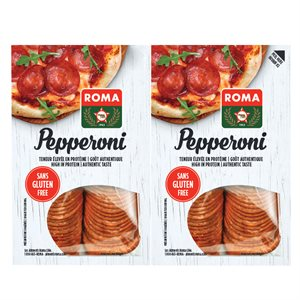 Duo pepperoni s. gluten tr. 2x200gr